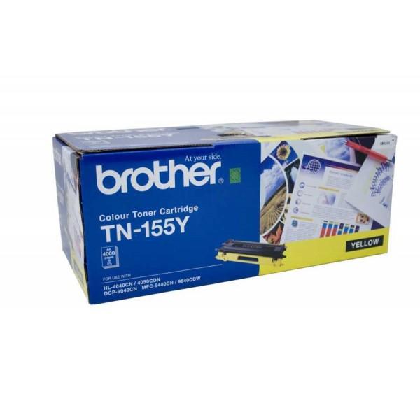 MUADİL TONER BROTHER TN155/TN115 SARI (YÜKSEK KAPASİTE)
